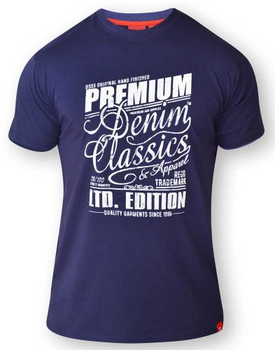 D555 Premium Denim T Shirt